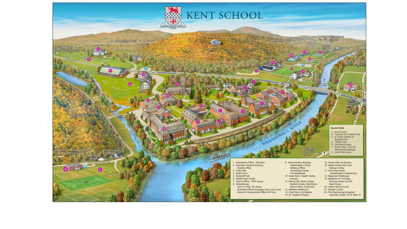 Map of Kent Campus – NorthEastern States Men's Retreat Kent State Campus Map Fieldhouse on